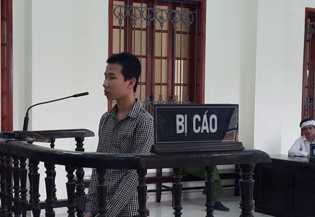 Bị cáo Nguyễn Quang Quyết tại phiên tòa