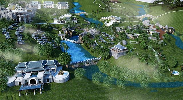 Công viên Suối khoáng nóng Núi Thần Tài sẽ đi vào hoạt động cuối tháng 4/2016.