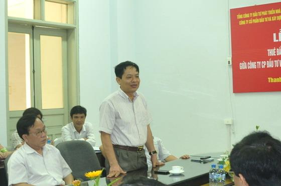 Ông Lê Thanh Hà- Phó trưởng BQL khu kinh tế Nghi Sơn, Thanh Hóa (Ảnh: TG)