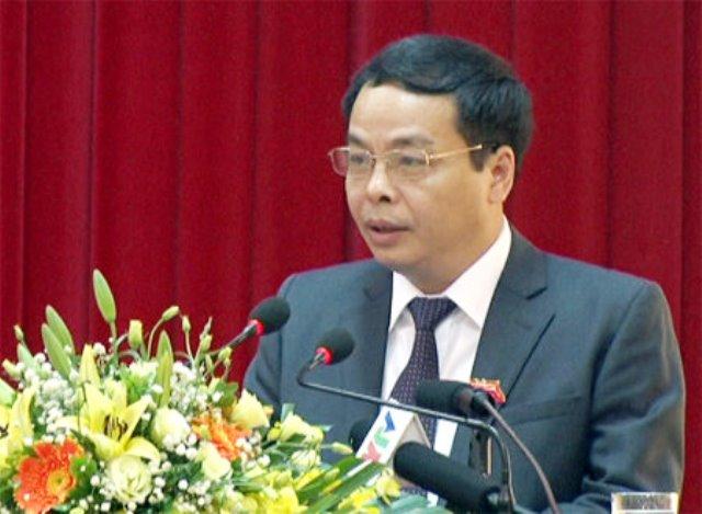 Ông Ngô Ngọc Tuấn, Chủ tịch HĐND tỉnh, kiêm Trưởng ban Tổ chức Tỉnh ủy Yên Bái. Ảnh tư liệu