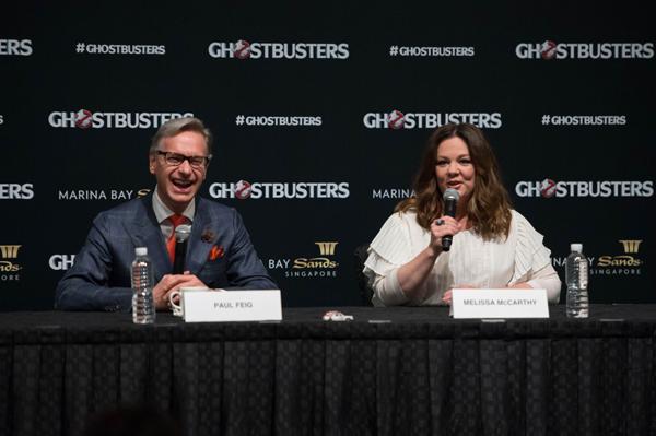 Ông bày tỏ niềm tự hào khi được chứng kiến 263 người hâm mộ thiết lập kỷ lục Guiness hóa trang thành ma, thể hiện tầm ảnh hưởng và sức sống của thương hiệu Ghostbusters do Ivan Reitman (đạo diễn), Dan Aykroyd, Harold Ramis (biên kịch) tạo ra 32 năm về trước.