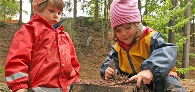 Trong khi trẻ em Việt Nam phải học đủ thứ để chuẩn bị vào lớp 1 thì trẻ em ở Đức được vui chơi thỏa thích.