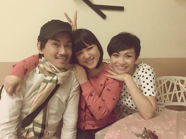 Ngọc Linh và Phương Thanh thường xuyên cập nhật tình hình sức khỏe của Minh Thuận từ khi anh bị bệnh.