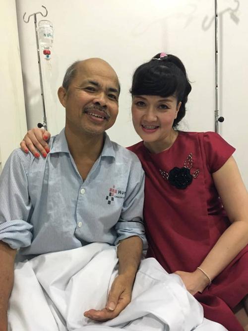 Nghệ sĩ Vân Dung thân thiết với Hán Văn Tình khi anh còn sống.