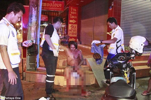 Hiện trường vụ việc người đàn ông bị vợ cắt của quý.