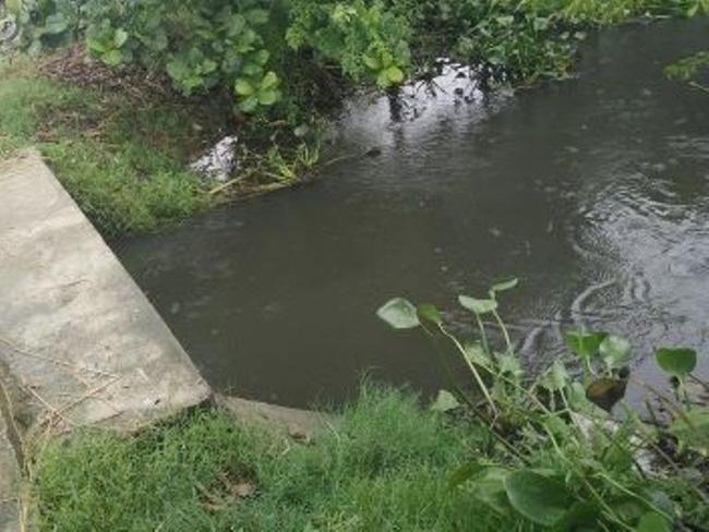 Hiện trường nơi cháu bé bị đuối nước