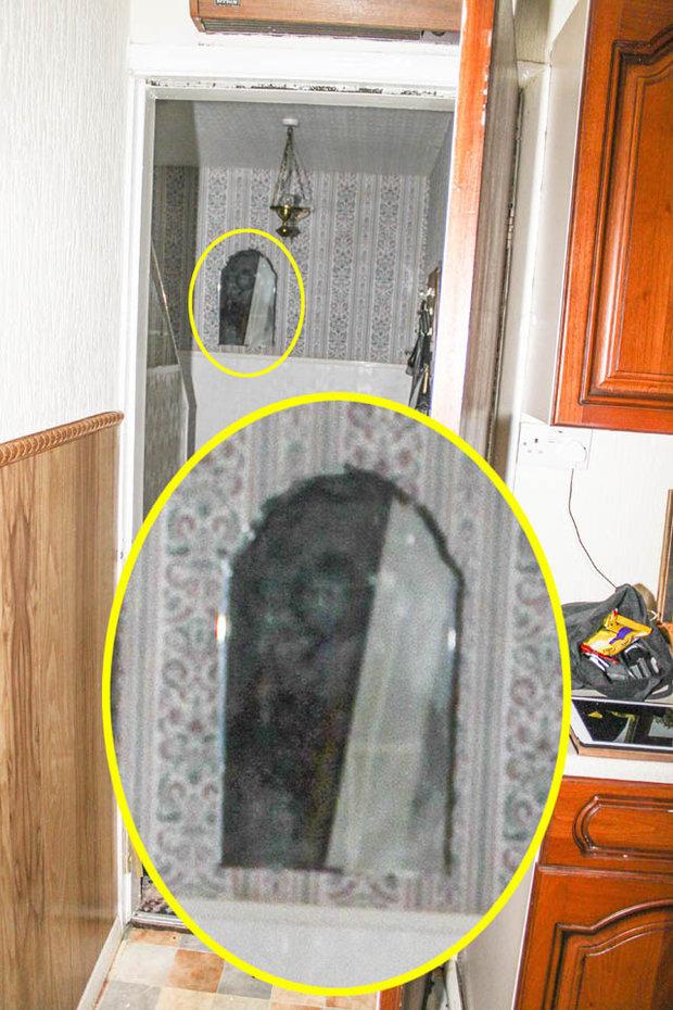 Bóng đen kỳ dị xuất hiện trong ảnh của Pete.