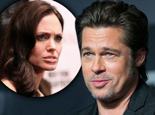 Brad Pitt được cho đã ngủ với một cô gái tóc nâu người Crotia trên giường của Angelina Jolie