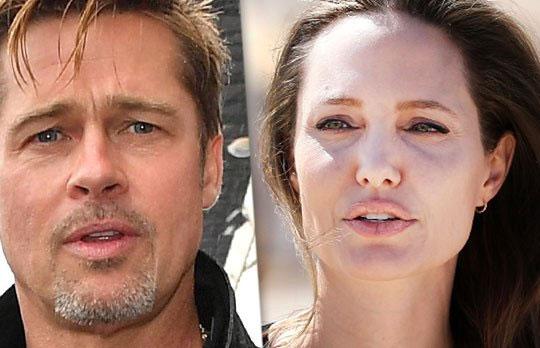 Brad đã không hề hay biết khi vợ lên tòa đệ đơn ly dị. Anh đã khóc không ngừng khi Angelina mang các con đi.