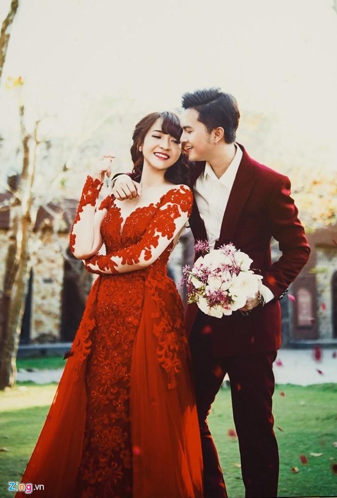 Ảnh cưới ngọt ngào của cặp đôi Nam Cường - Phương Thảo.