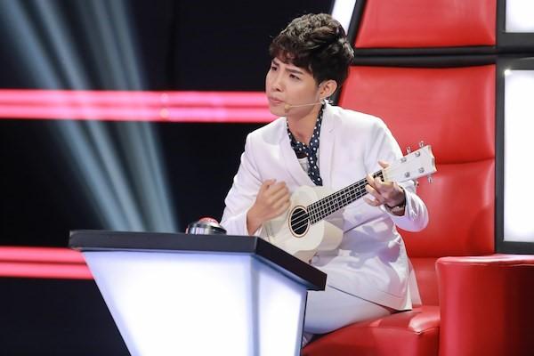 Nữ ca/nhạc sĩ không quan tâm đến những bàn luận về việc mình không xứng đáng làm huấn luyện viên The Voice Kids. Ảnh: Windy