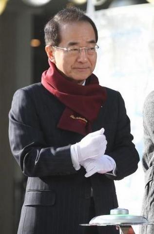 Ông Lee trong một sự kiện ở Seoul tháng 12/2015.