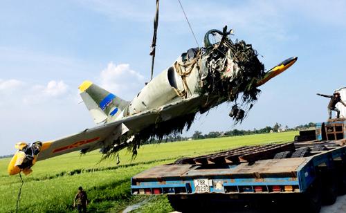 L39 sau tai nạn.