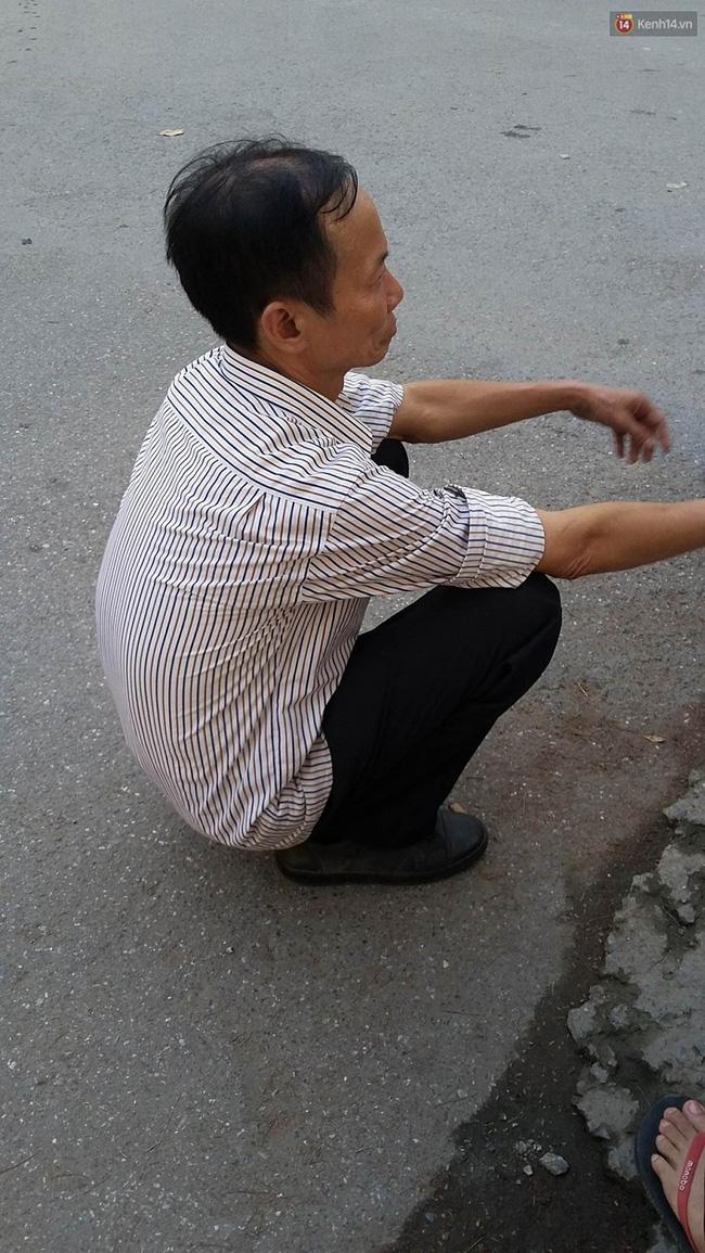 Ông Toàn, người chứng kiến kể lại vụ việc.