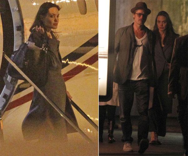 Gần 1 năm sau cuộc tranh cãi trước mặt các con ở công viên, Angelina và Brad lại xung đột quyết liệt trên chuyến bay từ Pháp về Mỹ ngày 14/9 vừa qua. Nguồn tin tiết lộ trên tờThe Sun, Brad đã nổi giận quát tháo cậu con trai Maddox và trong lúc mất kiểm soát, anh đã đánh con. Tài tử hiện bị FBI điều tra về hành vi bạo lực với con cái. Tuy nhiên, điều tệ hại hơn, Angelina Jolie đã không tha thứ cho hành động của chồng. 5 ngày sau chuyến bay đó, nữ diễn viên đệ đơn ly hôn lên tòa án Los Angeles, yêu cầu được toàn quyền nuôi con. Phía Jolie hé lộ nguyên nhân ly hôn là vì sức khỏe của cả gia đình và tố cáo Brad lạm dụng rượu, cần sa kèm theo thói thường xuyên nổi giận.