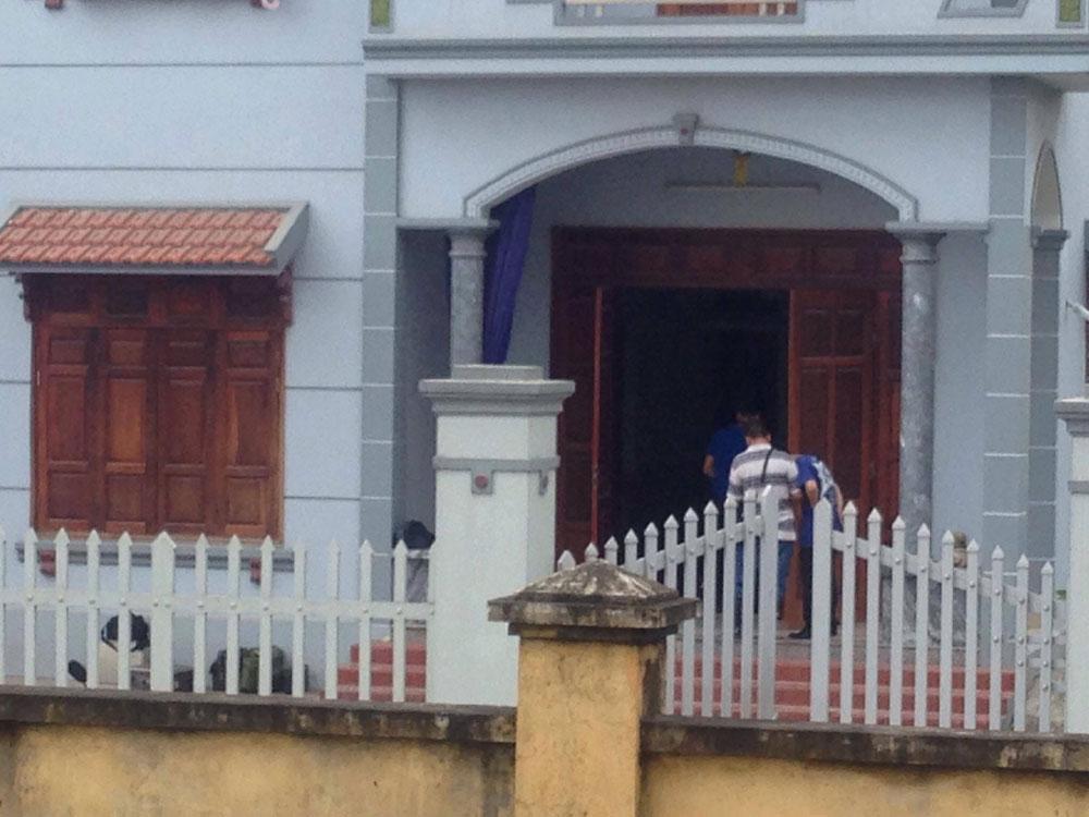 Căn nhà nơi xảy ra vụ thảm án đau lòng.
