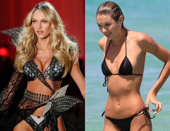 Sự thật về vòng một của thiên thần nóng bỏng bậc nhất Victorias Secret - Candice Swanepoel