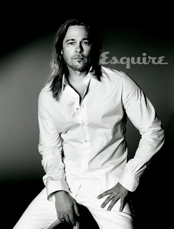 Tháng 5/2013, một tuần sau khi Angelina Jolie công bố tin cô đã phẫu thuật cắt ngực để ngừa ung thư, Brad Pitt đã chia sẻ với tạp chí Esquire về gia đình anh: Tôi có nhiều bạn thân, tôi có gia đình riêng và chưa bao giờ hạnh phúc hơn bây giờ. Tôi luôn muốn khi lập gia đình, thì gia đình phải thật lớn. Tôi muốn trong nhà mình luôn hỗn loạn. Phải luôn có tiếng ồn không ngừng trong nhà, cho dù là tiếng cười, la hét hay tiếng khóc chăng nữa. Tôi yêu điều đó.