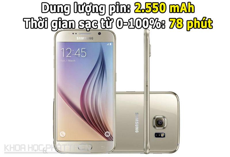 3. Samsung Galaxy S6 .
