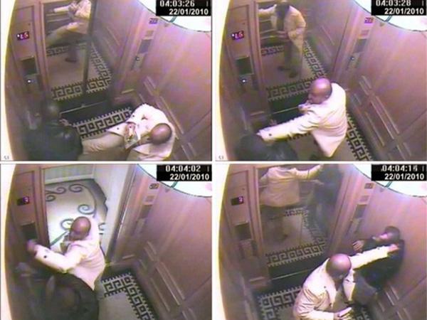 Camera trong thang máy tố cáo tội ác hành hung người hầu của Hoàng tử.