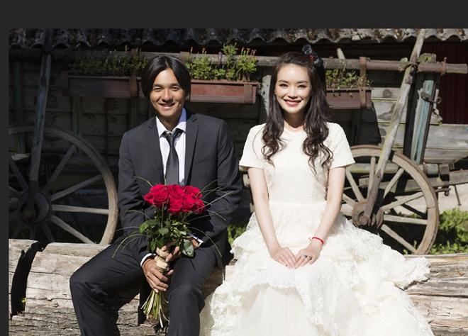 Đám cưới của hai nghệ sĩ được xếp vào hàng đơn giản bậc nhất Trung Quốc. Ảnh: Sina.