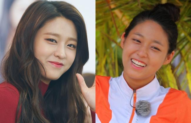 Seolhyun (AOA) cũng không kém cạnh đồng nghiệp ở khoản dọa khán giả với mặt mộc hoàn toàn