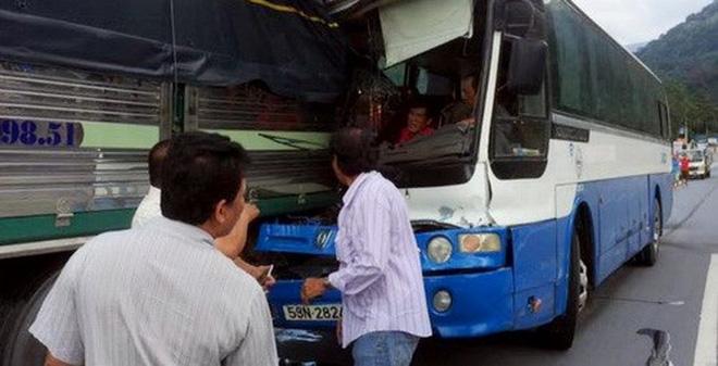 Hiện trường vụ tai nạn - Ảnh: Trí thức trẻ