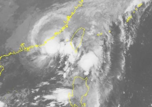 Hình ảnh cơn bão số 6 qua vệ tinh. Ảnh: NHCMF.