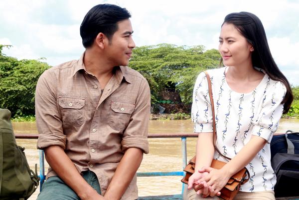 Ngọc Lan và Thanh Bình diễn xuất tự nhiên, thoải mái nhờ kinh nghiệm nhiều năm trong nghề và tình cảm thật sự họ dành cho nhau.