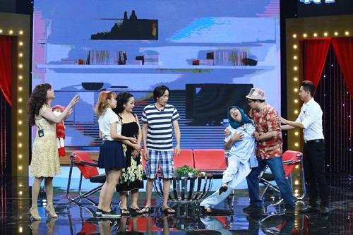 Nam diễn viên, ca sĩ 6x cùng Hoài Linh, Thúy Nga, Chí Tài, Trường Giang... khiến khán giả thích thú khi mang đến nhiều tiếng cười.