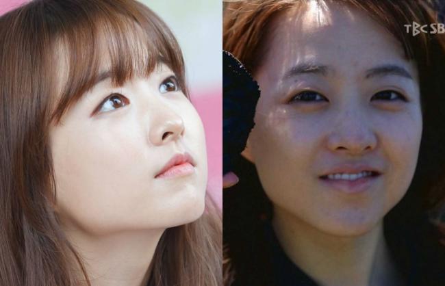 Làn da mịn màng như em bé của em gái quốc dân Park Bo Young vốn là niềm mơ ước của bao thiếu nữ. Nhưng qua bức hình bóc mẽ ở trên, niềm mơ ước đó có lẽ đã vội lụi tắt