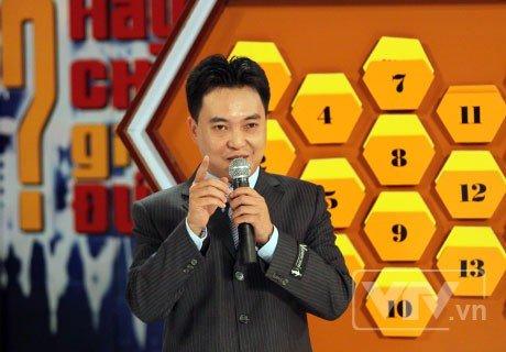 MC Lưu Minh Vũ trong chương trình  Hãy chọn giá đúng