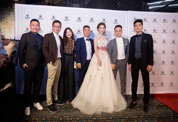 Ngọc Trinh tham dự đêm khai mạc Vietnam Film Festival ngày 29/9.