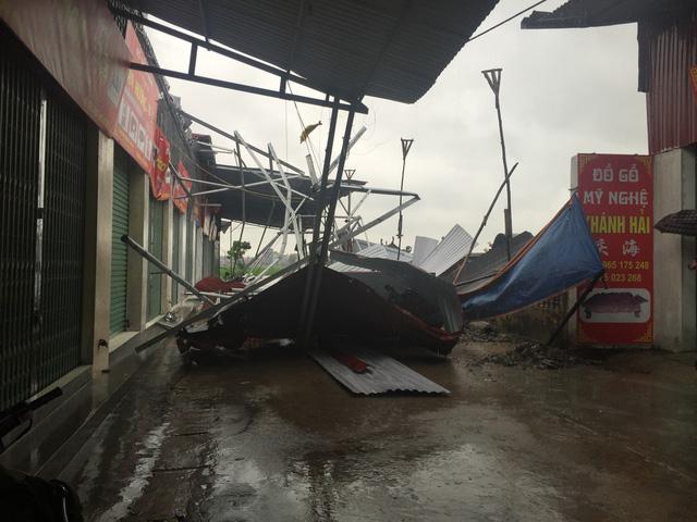 Cơn bão số 3 gây thiệt hại về tài sản tại Bắc Ninh.