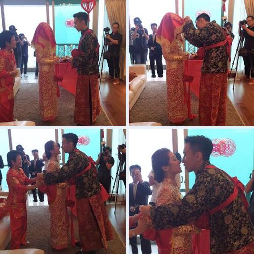 Các nghi thức của hôn lễ diễn ra trước sự chứng kiến của bố mẹ hai bên và dàn phù dâu, phù rể. Danh Nhã đăng quang Hoa hậu Hong Kong 2012, sau đó bắt đầu thử sức trong lĩnh vực diễn xuất với một số phim như Harmony is a Virtue, Ghost of Relativity của TVB.