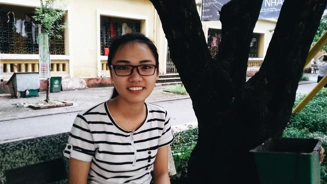 Bạn Trang - sinh viên NEU.