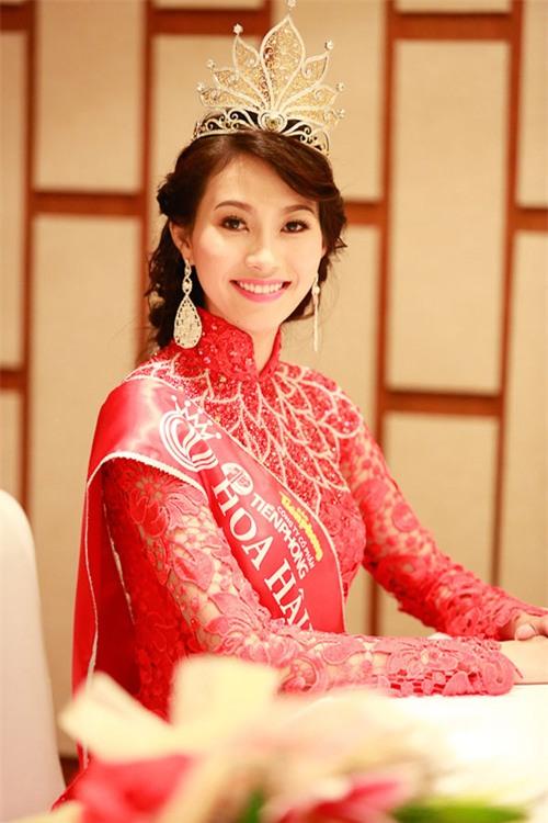 Hoa hậu Thu Thảo.