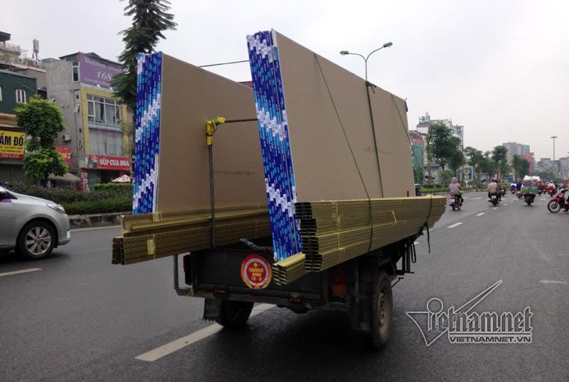 Dịch vụ vận chuyển hàng bằng xe mô tô 3 bánh tự chế rẻ nên được các các chủ hàng lựa chọn nhiều.
