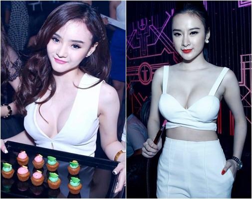 Cặp chị em song Phương đều bị dư luận nghi ngờ độn ngực.