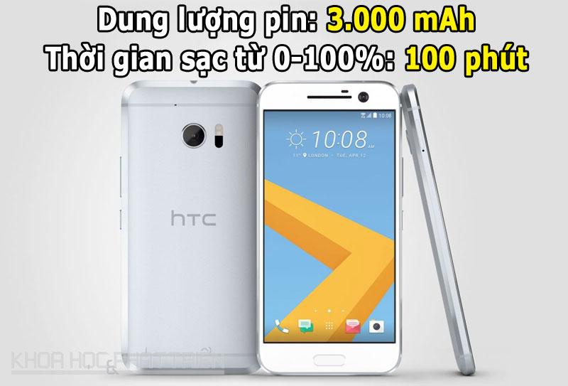 8. HTC 10 .