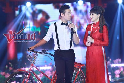 Diễm Quỳnh - Anh Tuấn là cặp đôi MC ăn ý nhất trên sóng VTV