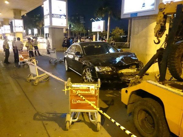 Vụ tai nạn xe hơi hồi tháng 2/2015 đã khiến Hồ Ngọc Hà hao tâm tốn trí một phen.