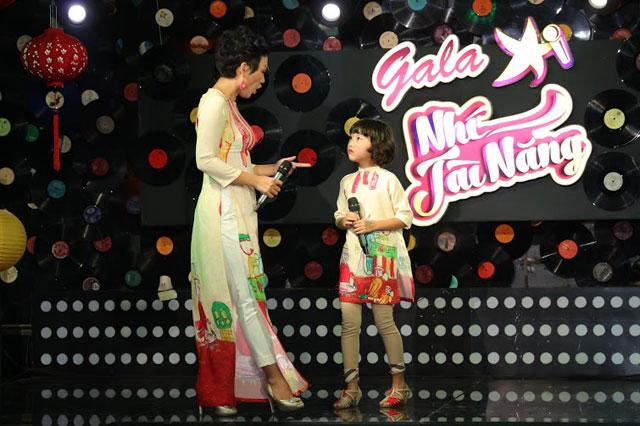 Thái Thùy Linh rất khắt khe trong việc dạy dỗ con cái nhất là trong lĩnh vực ca hát.