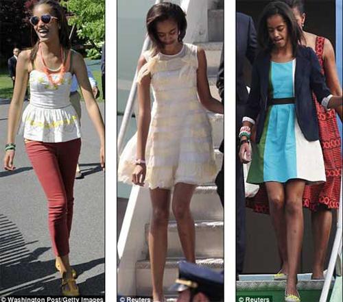Không quần áo hàng hiệu, hai cô gái luôn chọn cho mình một phong cách bình dân nhẹ nhàng.