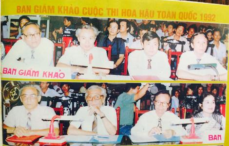 Ban Giám khảo Hoa hậu Việt Nam 1992