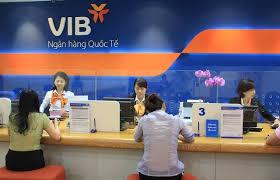 Quầy giao dịch của VIB.