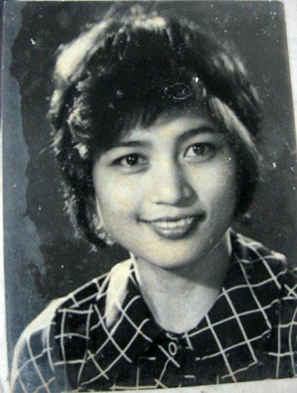 Nghệ sĩ Kim Xuyến hồi trẻ