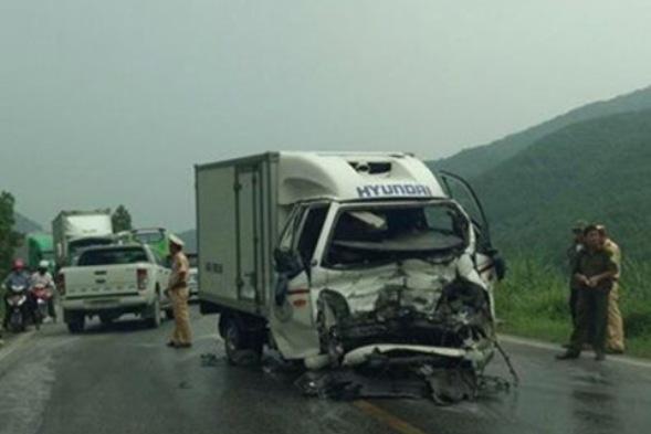 Hiện trường vụ tai nạn khiến 3 người bị thương nặng. Ảnh: Hữu Nghĩa
