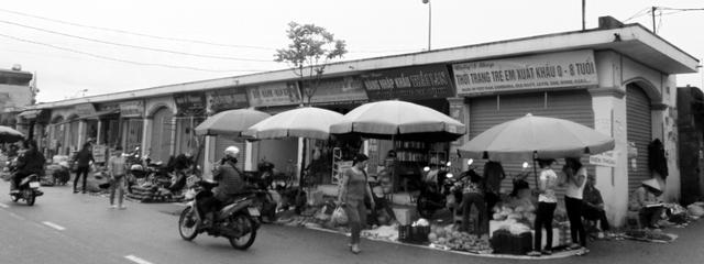 Chợ Quang Trung hiện tại. Ảnh: Thế Nam