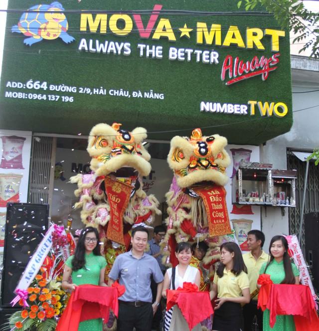 Tập đoàn A&P khai trương cửa hàng số 2 tại Đà Nẵng. Ảnh Đức Hoàng